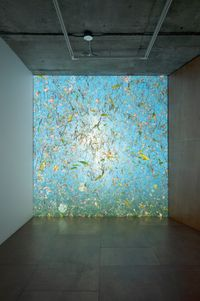 Primordial, 1 by Jennifer Steinkamp contemporary artwork sculpture, moving image
