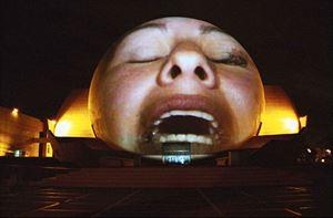 Tijuana Projection by Krzysztof Wodiczko contemporary artwork