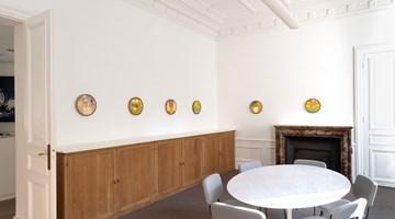 Contemporary art exhibition, Etel Adnan, Parler aux fleurs at Galerie Lelong & Co. Paris, 13 Rue de Téhéran, Paris, France