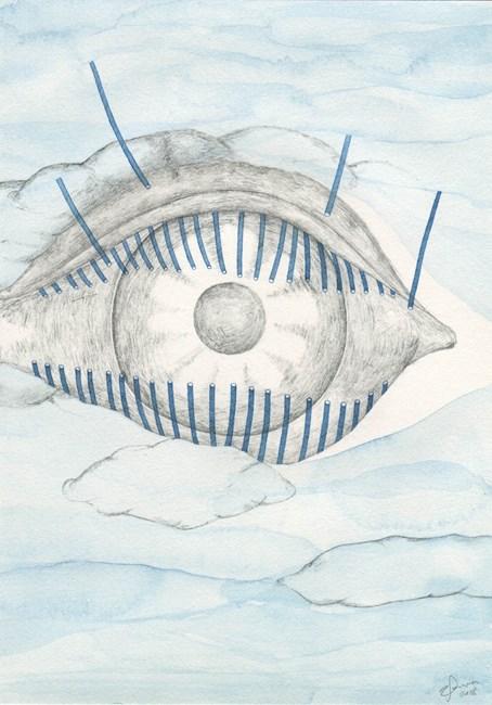 Eye Cloud by Zina Swanson contemporary artwork