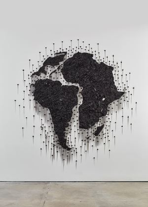 Twins (Mirror Image) by Teresita Fernández contemporary artwork