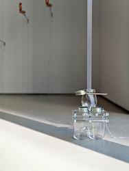 Yuko Mohri, Form of the Daze, 2016, Exhibition view. Image courtesy of Jane Lombard Gallery, New York.