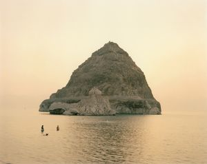 Swimmers, Pyramid Lake by Richard Misrach contemporary artwork
