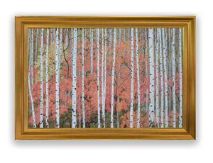Irama Pohon dan Dinamika Warna by Nisan Kristiyanto contemporary artwork