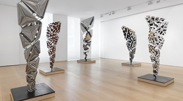 Contemporary art exhibition, Conrad Shawcross, After the Explosion, Before the Collapse at Victoria Miro, Mayfair, London, United Kingdom