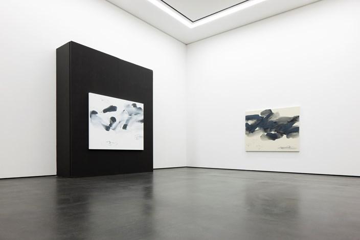 Exhibition view: Lee Kang-So,Becoming 生成, Wooson Gallery, Daegu (17 October 2017–12 January 2018). Courtesy Wooson Gallery, Daegu.