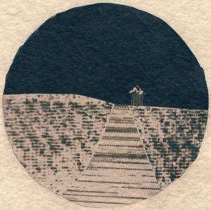 Horizon Variations 04 by Corinne De San Jose contemporary artwork