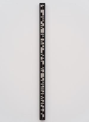 test pattern [film 23] by Ryoji Ikeda contemporary artwork