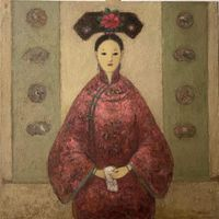 Madame Ying Qui by Juanli Jia contemporary artwork painting