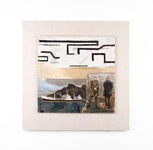 Two Men + a Ship by Simon Stone contemporary artwork