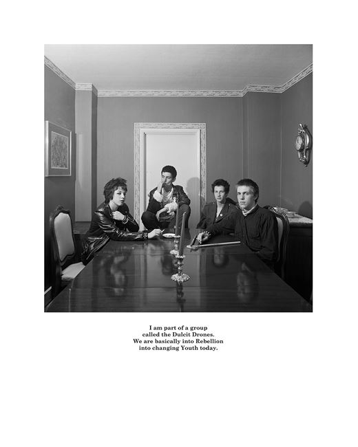 I am part of a group by Karen Knorr contemporary artwork