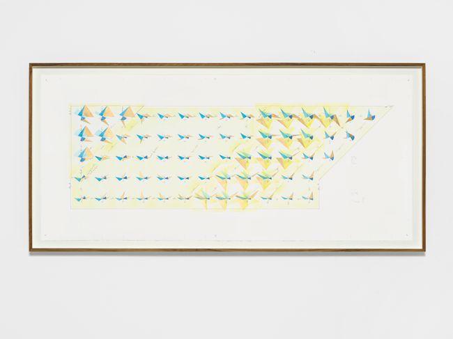 Opus 119, Nr. 6 by Jorinde Voigt contemporary artwork