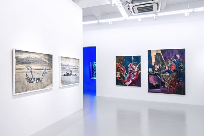 Exhibition view: Closer than they appear (part 2), Yavuz Gallery (19 September–18 October 2020). Courtesy Yavuz Gallery.