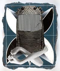 Ohne Titel by Vladimir Houdek contemporary artwork painting, works on paper