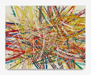 Untitled (Backcountry Capri 54.38) by Mark Grotjahn contemporary artwork