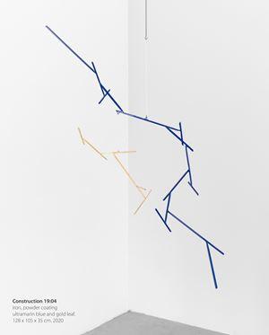 Construction 19:04 by Knopp Ferro contemporary artwork