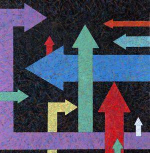 Game No.4 by Xiong Wenyun contemporary artwork