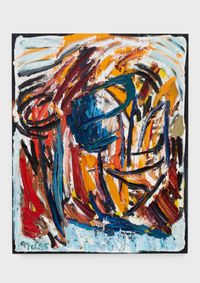 Out of Nature by Karel Appel contemporary artwork painting