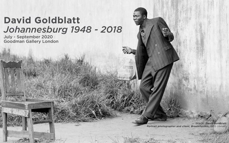 David Goldblatt,Portrait photographer and client, Braamfontein(1955) (detail). Courtesy Goodman Gallery.