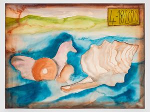 4-18-2020 by Francesco Clemente contemporary artwork