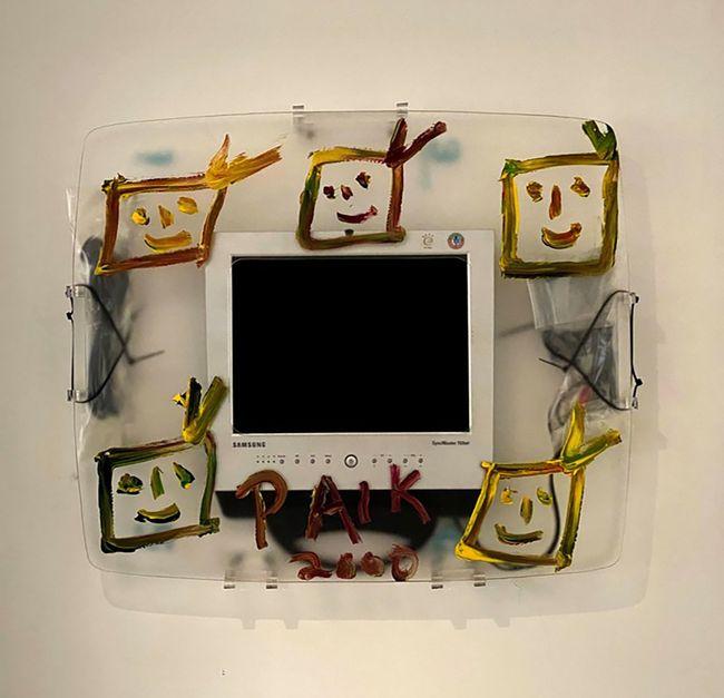 Tiger lives by Nam June Paik contemporary artwork