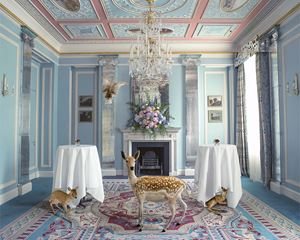 The Wedding Guests, Belgravia Room by Karen Knorr contemporary artwork