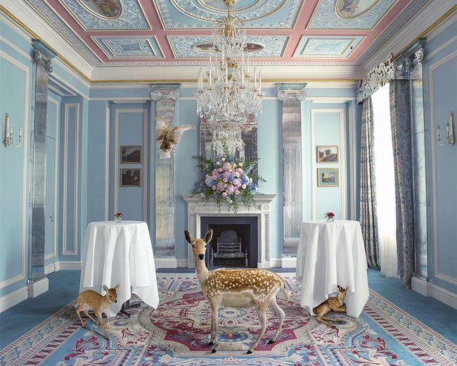 The Wedding Guests, Belgravia Room by Karen Knorr contemporary artwork