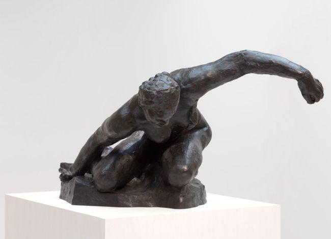 Auguste Rodin, La Muse tragique (The Tragic Muse) (1896). Bronze. 78 x 117 x 125 cm. Edition 1/8 + 4AP. Cast: Fonte Susse (2017). Courtesy Gagosian. Photo: Rob McKeever.