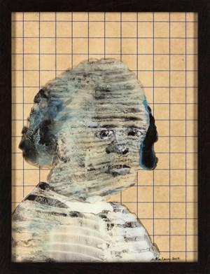 The Judge by Nalini Malani contemporary artwork