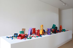 Boxes by Hassan Sharif contemporary artwork