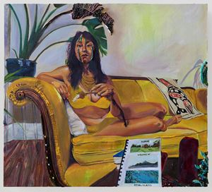 Speaking Seeds by Gisela McDaniel contemporary artwork