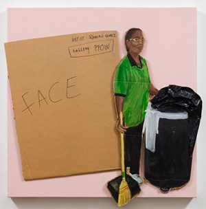 Face/Janitor by Ramiro Gomez contemporary artwork