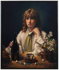 Max Kallio by Stephen Appleby-Barr contemporary artwork painting