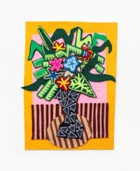 Yellow by Jody Paulsen contemporary artwork textile