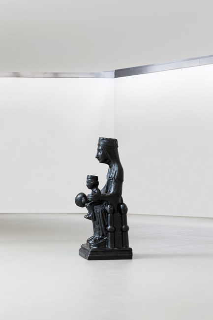 Black Madonna by Theaster Gates contemporary artwork