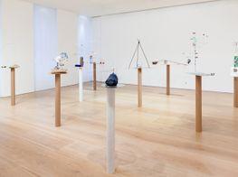 "Sarah Sze<br><em>Solo Exhibition</em><br><span class=""oc-gallery"">Victoria Miro</span>"