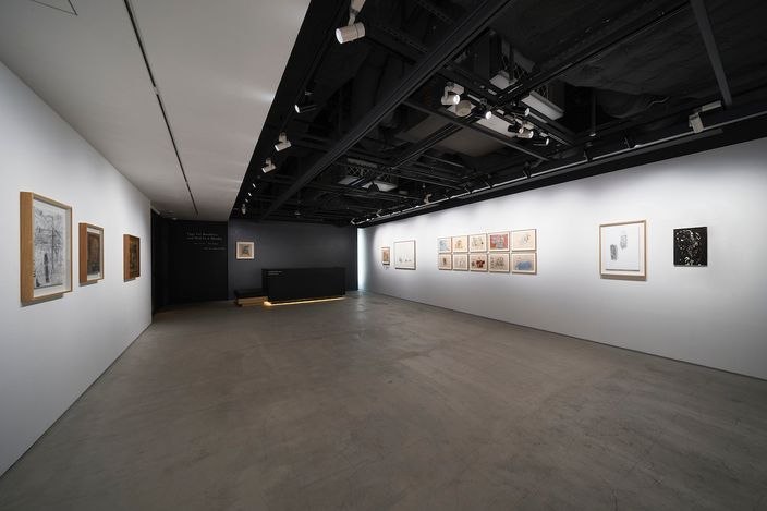 Exhibition view: Uri Aran, Eggs for Breakfast and Bird in a Blanket, The Club, Tokyo (18 May–25 June 2021). Courtesy The Club, Tokyo.