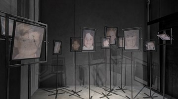 Contemporary art exhibition, Christian Boltanski, Room #6 at KEWENIG, Berlin, Germany