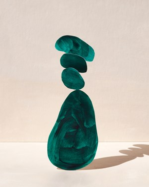 bean tower by Ina Jang contemporary artwork