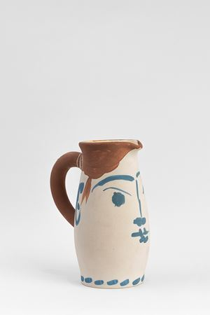 Face Tankard (Chope visage) by Pablo Picasso contemporary artwork