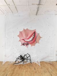 Caught in a Lie by Trey Abdella contemporary artwork painting, works on paper, sculpture