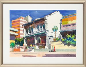 Mohammed Sultan Road (California Style Series) by Ong Kim Seng contemporary artwork