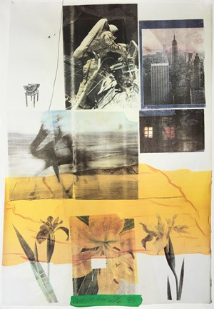 L'autre monde by Robert Rauschenberg contemporary artwork