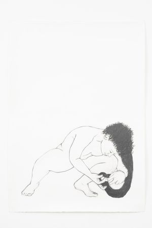 Cuddle by Pamela Phatsimo Sunstrum contemporary artwork