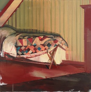 Narrow Bed by David Ralph contemporary artwork