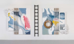 Untitled–Diptych by Lucy + Jorge Orta contemporary artwork