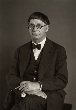 Der Architekt [Hans Poelzig] (The Architect [Hans Poelzig]) by August Sander contemporary artwork