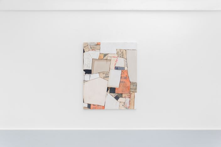Exhibition view: Sally Ross,Material Matters, rodolphe janssen, Brussels (18 May—6 July 2019). Courtesy the artist and rodolphe janssen. Photo:HV photography.