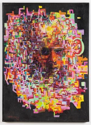 Malcolm by Gerald Williams contemporary artwork