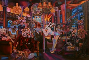 In The Bar No. 2 by Leela Promwong contemporary artwork